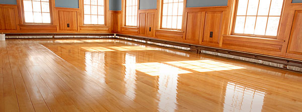 great looking shiney floor finishes